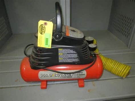 black and decker firestorm air compressor