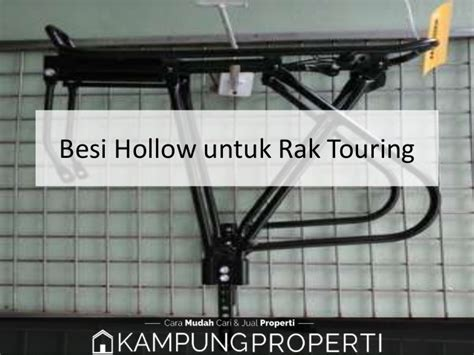 Rak Besi Hollow jual distributor supplier pabrik besi hollow