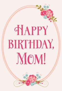 printable birthday cards mom free printable birthday cards for mother greetings island