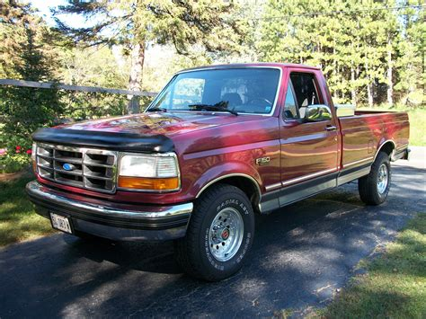 1993 ford truck rote1993 1993 ford f150 regular cablong bed specs photos