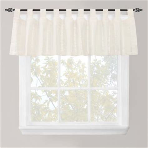 Top Of The Window Valance Buy Tab Top Window Treatments From Bed Bath Beyond