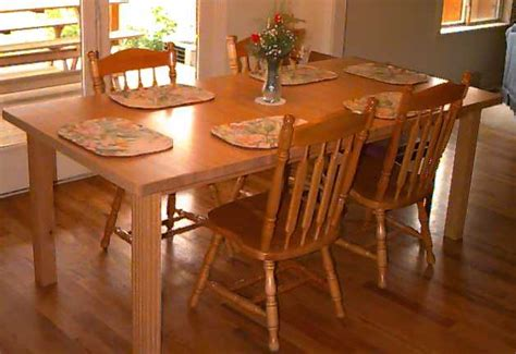 pdf diy solid wood kitchen table plans small