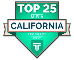 Top Us Mba Programs by Top 25 Mba Programs In California 2017