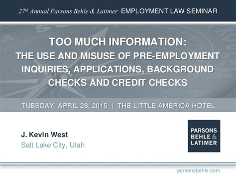 Aps Background Check Much Information The Use And Misuse Of Pre Employment Inquiries