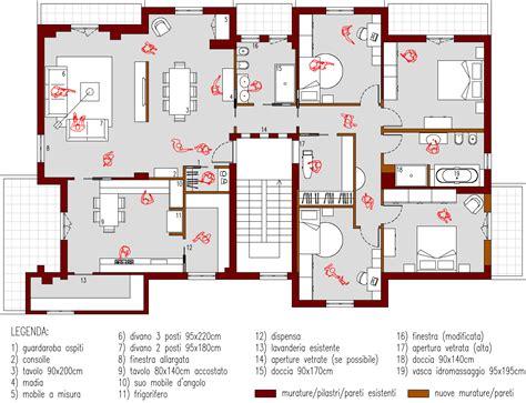 progetto bagno 4 mq progetto 190 mq architettura a domicilio 174