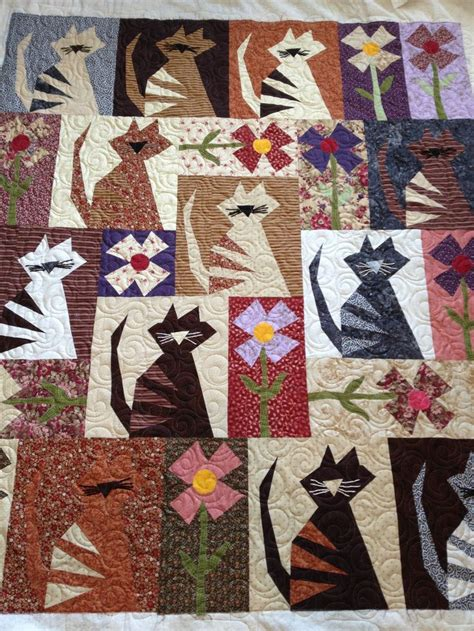 Cat Quilt Buggy Barn Pattern Pieced By E Just This One