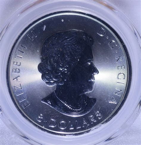 1 Ounce Silver Coin Canada - 2016 canada bison one ounce 999 silver coin pcgs ms 69
