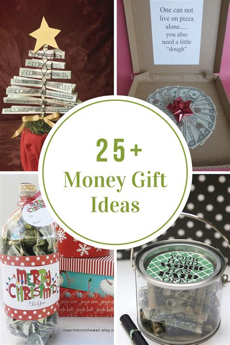 ideas for christmas money gifts