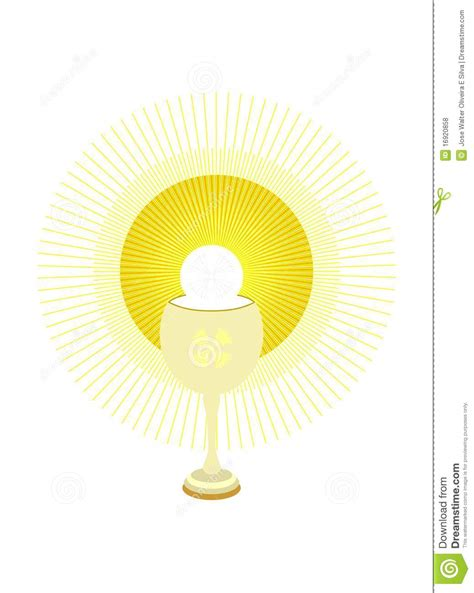 chalice  holy host royalty  stock  image