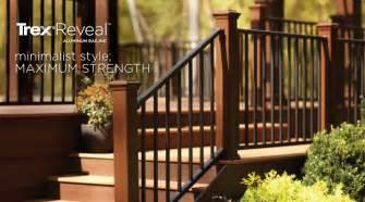 Trex Stair Railing by Composite Decking Wood Alternative Decks Amp Boards Trex