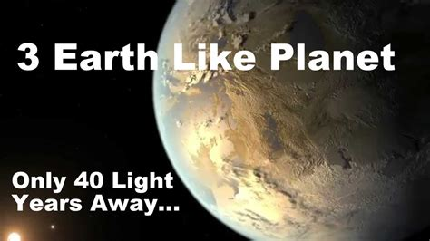 Light Of The That I Found by 3 Earth Like Planets Discovered Quot Only Quot 40 Light Years