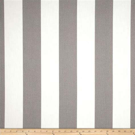 Vertical Stripe premier prints indoor outdoor vertical stripe grey discount designer fabric fabric