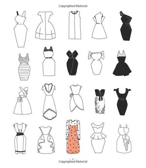 20 ways to draw a dress and 44 other fabulous fashions and accessories a sketchbook for artists