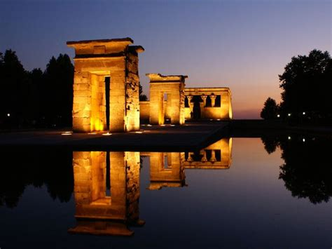 temple of debod madrid spain spain photos national geographic