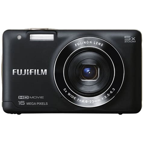 digital finepix fujifilm finepix jx660 digital black 16291015 b h