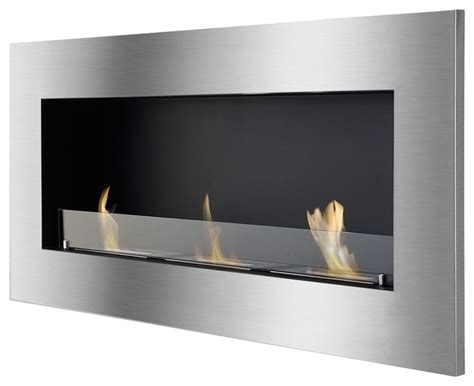 Indoor Glass Fireplace by Ignis Bioethanol Fireplace With Safety Glass