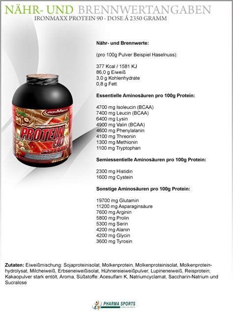 protein 90 ironmaxx ironmaxx protein 90 9 eiweiss komponenten
