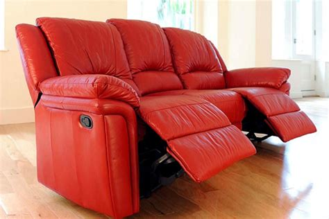 buy leather recliner sofa buy red leather recliner sofa in lagos nigeria