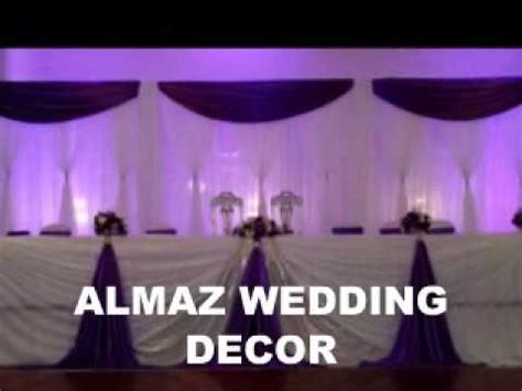 almaz wedding decor ethiopianeritrean purple wedding