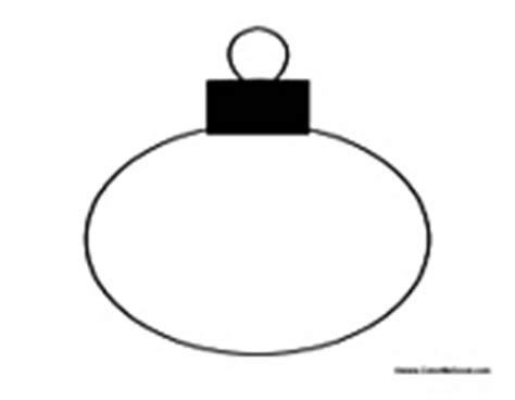 blank christmas ornament coloring page christmas decorations coloring pages