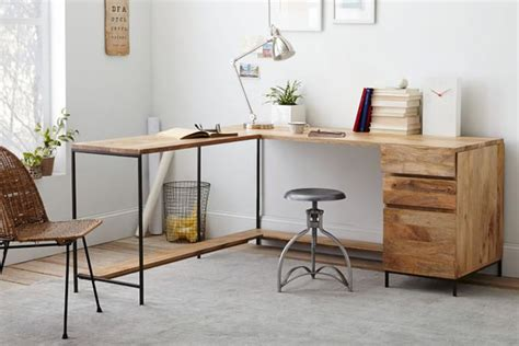modular office desks industrial home home office modern traditional home office furniture of brown wooden l shaped desk designed with