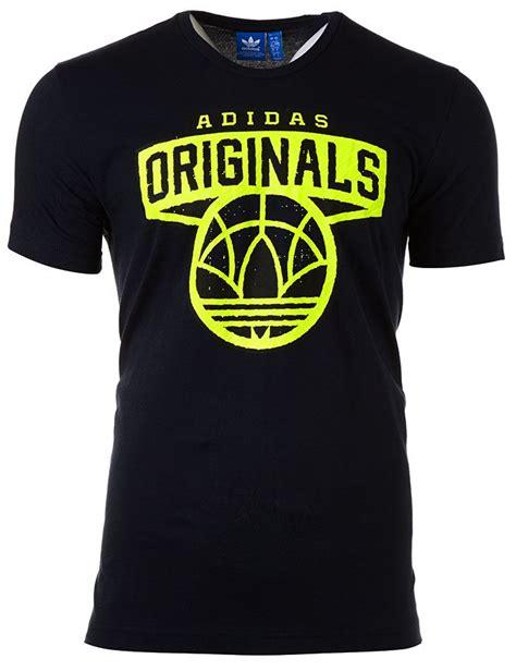 Tshirt Adidas Black B C adidas originals t shirt adidas logo in black blue