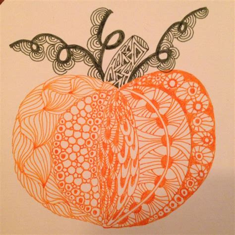 zentangle pumpkin printable 99 best zentangle images on pinterest