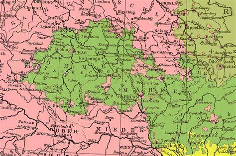 karte deutschland tschechien tschechien landkarte