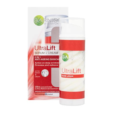 Serum Garnier garnier skin naturals ultra lift serum 2in1 anti ageing skincare 50ml feelunique