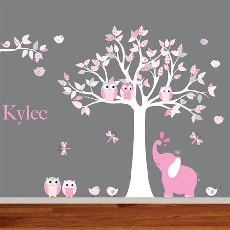 nursery tree wall decals wall decals nursery nursery wall decal elephant decal