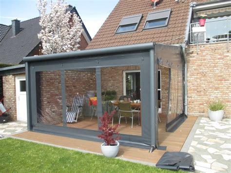 veranda zeichnen rollfenster terrassenvorh 228 nge