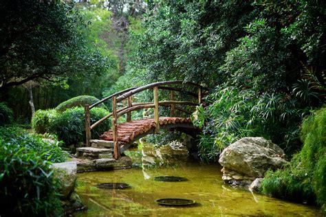 Beautiful Gardens In The World by Foot Bridge A Foot Bridge In The Japanese Garden In The