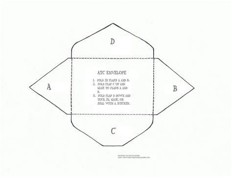 Atc Envelope Template Couldn T Find A Template That Opened Flickr Peterdahmen De Templates Pdf