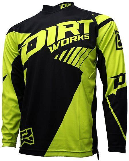 Kaos Fade 2 jersey sepeda dirtworks maschine hijau hiviz jual baju jersey celana sepeda mtb