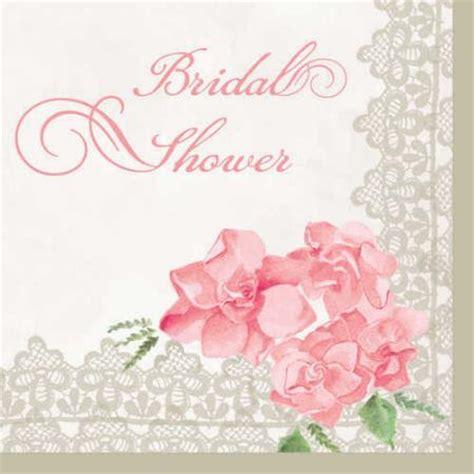 peony bridal shower luncheon napkins pkg 16