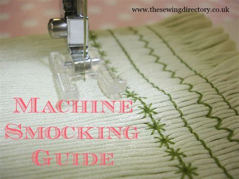 machine smocking techniques