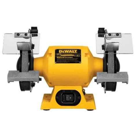 dewalt 6 in 150 mm bench grinder dw756 the home depot