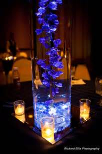 Blue Centerpieces It S All About The Flowers September 2010