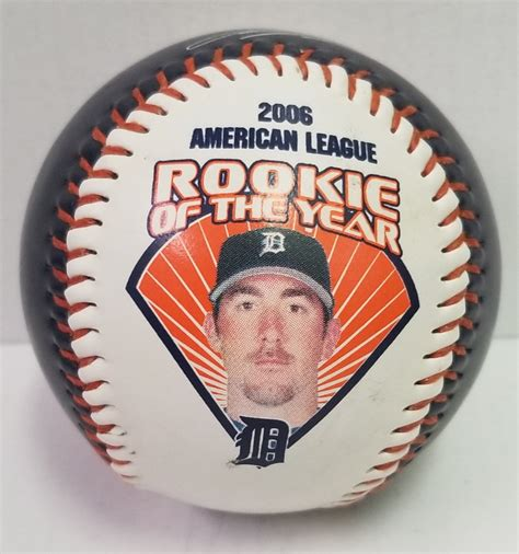 rookie   year verlander  ball avenue shop