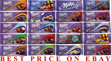 milka swiss chocolate different types cheapest on ebay