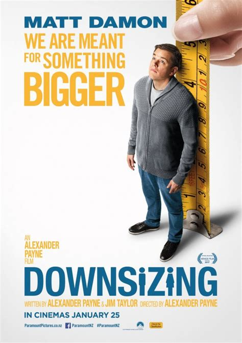 downsizing movie downsizing movie poster 1 of 4 imp awards
