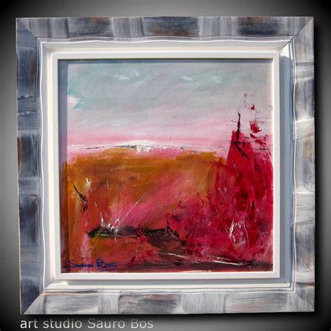 cornici per tela quadro moderno con cornice olio su tela moderno sauro bos