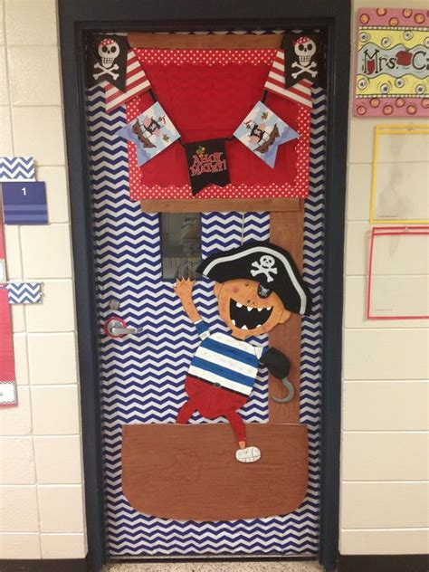 pirate themed classroom decorations pirate theme classroom door and on