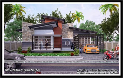 Four Bedroom House by Philippine House Design Four Bedrooms Bungalow House In Tarlac City