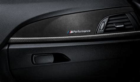 Bmw 1er F20 Carbon by Bmw M Performance Interieurleisten Carbon Alcantara 1er