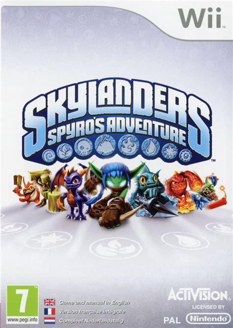 Skylander Spyros Adventures Wii skylanders spyros adventure per wii gamestorm it