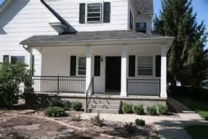 gilpin inc summit aluminum porch or deck rail