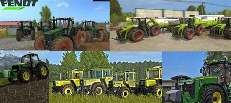 Best Tractors Mods Pack Ls 2017 Farming Simulator 2017