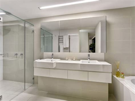 Large bathroom mirror for better vision designinyou