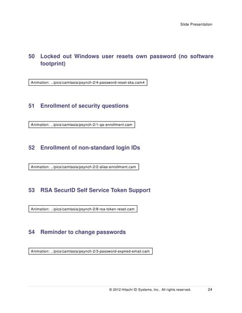 resetting id rsa password manager detailed presentation